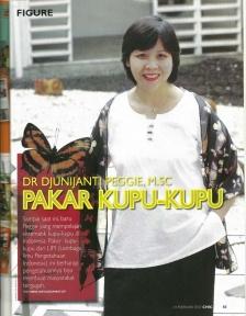 Chic Magazine 14 Februari 2007 -Dr. Djunijanti Peggie, M.Sc. - Pakar Kupu-kupu - halaman 1