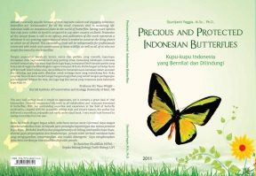 Cover Buku Precious and Protected Indonesian Butterflies